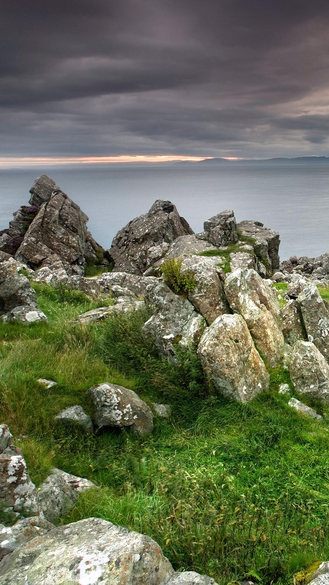 Murlough Bay At Dusk County Antrim Northern Ireland Uk