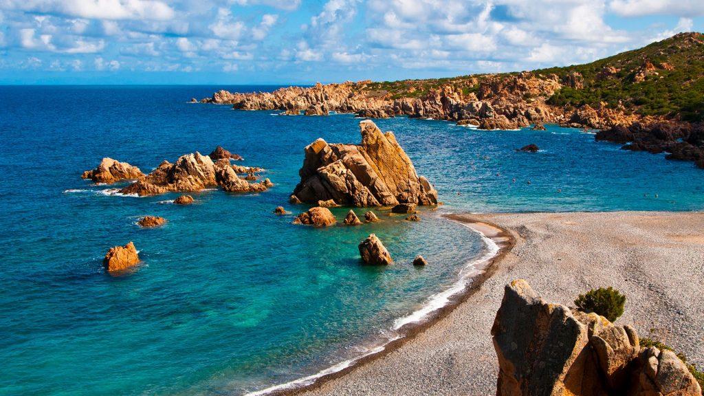 Between Isola Rossa and Costa Paradiso, Cala Tinnari, Gallura, Sardinia, Italy