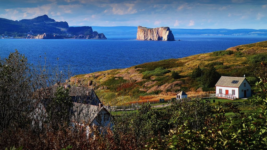 National park of the Bonaventure Island and Percé, Gaspésie, Québec maritime, Canada
