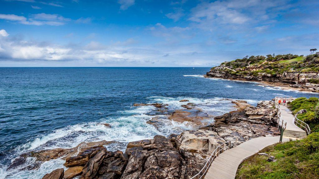 Bondi to Bronte Coastal Walk, Sydney, New South Wales, Australia