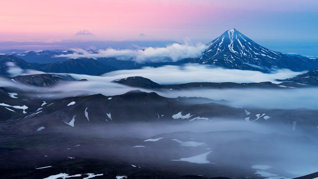 Vilyuchik (Vilyuchinsky) volcano, southern part of Kamchatka Peninsula, Russia