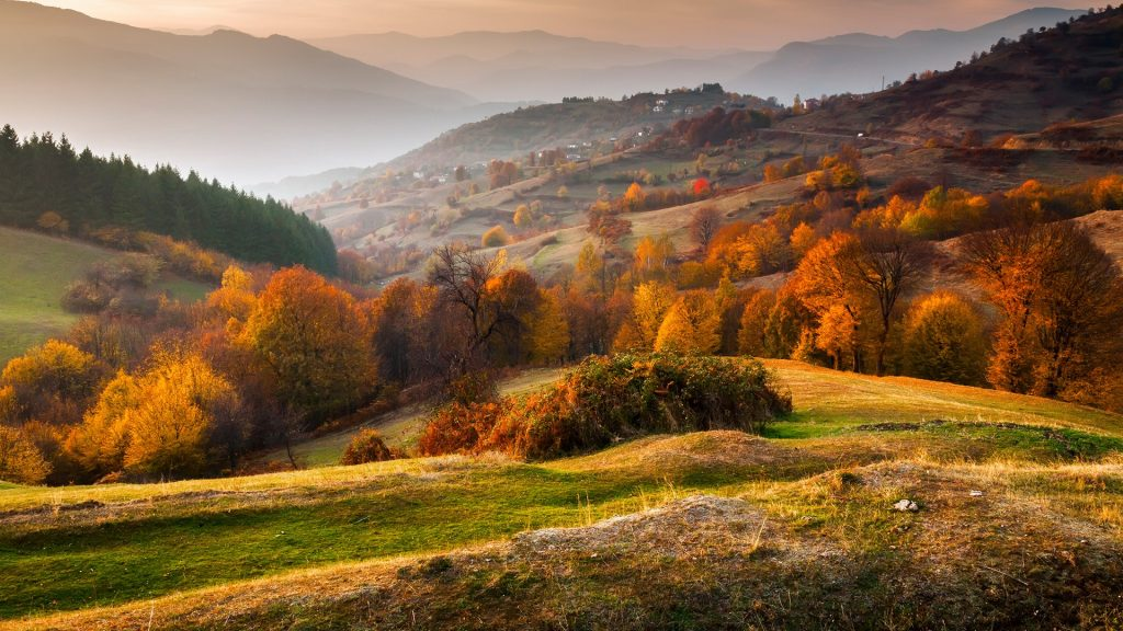 Rhodope Mountains in autumn time, Kardzhali, Bulgaria
