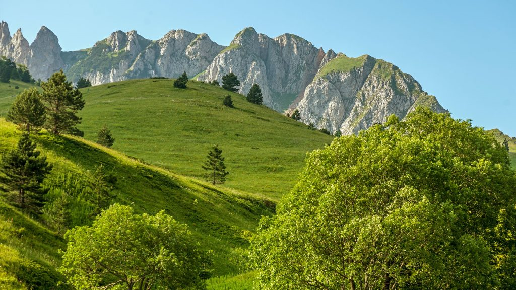 Zelengora mountain peaks and meadows, Sutjeska national park, Bosnia and Herzegovina