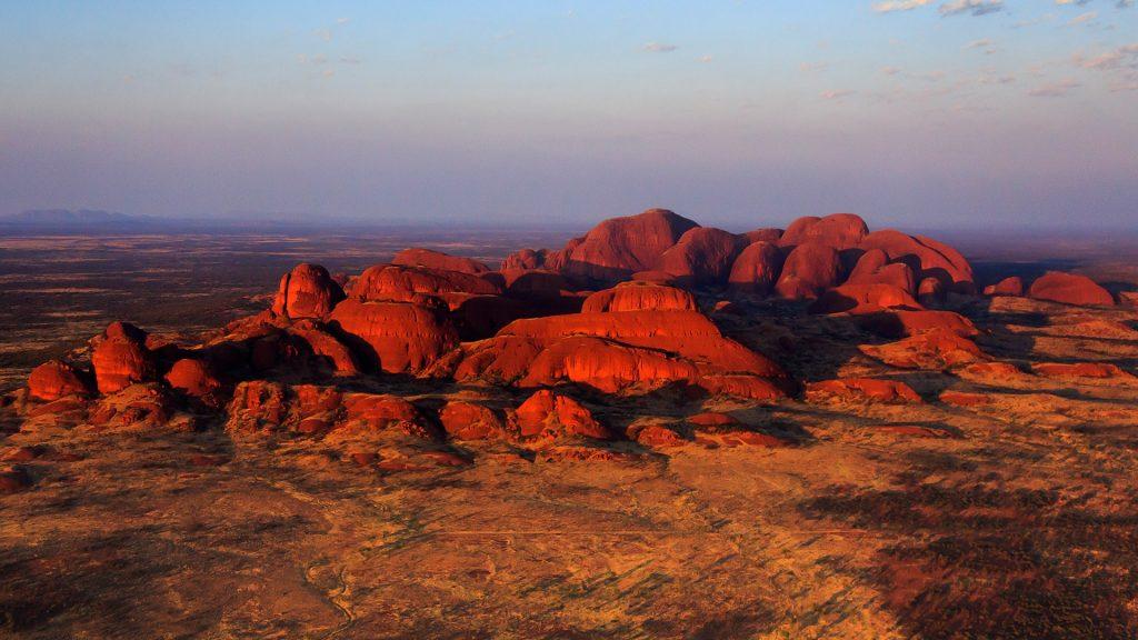 Kata Tjuta or the Olgas rock formation, Northern Territory, Australia