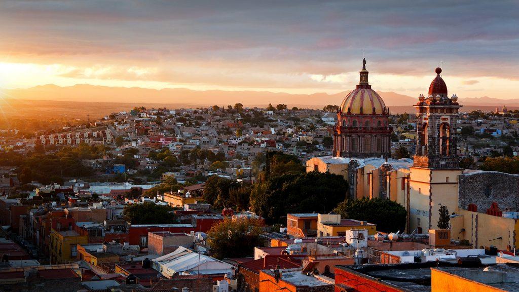 Church of the Immaculate Conception, San Miguel de Allende, Guanajuato, Mexico
