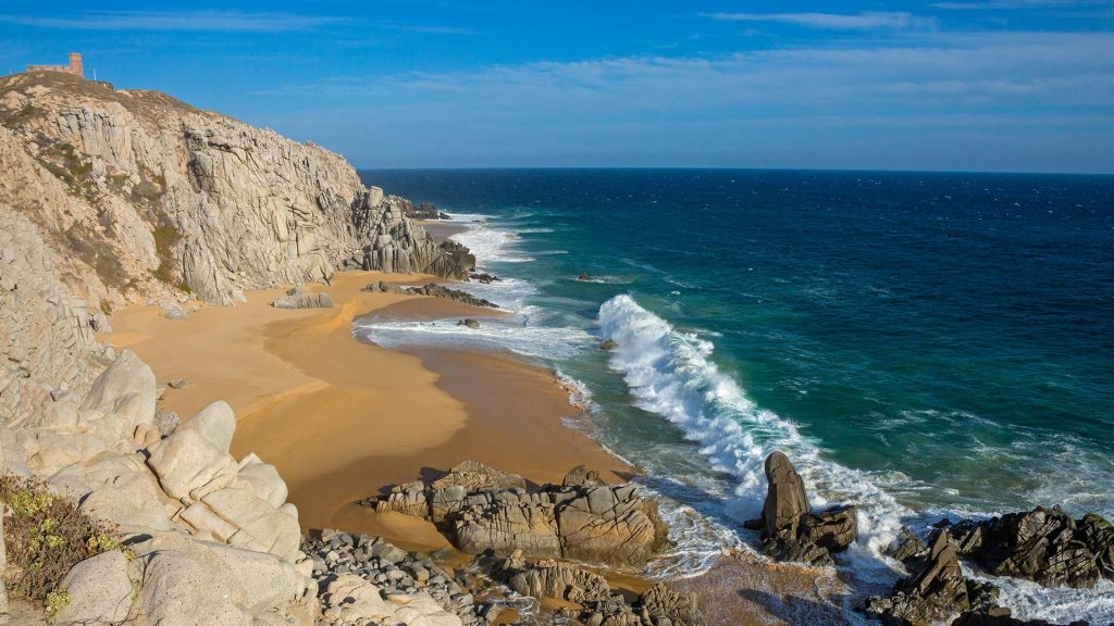 Pacific Beach at Quivira Golf Course, Cabo San Lucas, Baja California Sur, Mexico