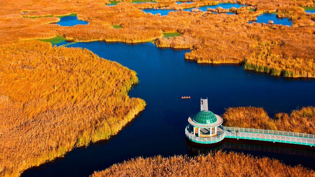 Longfeng Wetland Nature Reserve, Daqing, Heilongjiang, China