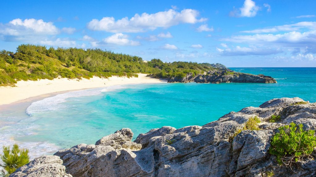 Horseshoe Bay beach, South Shore Park, Southampton Parish, Bermuda
