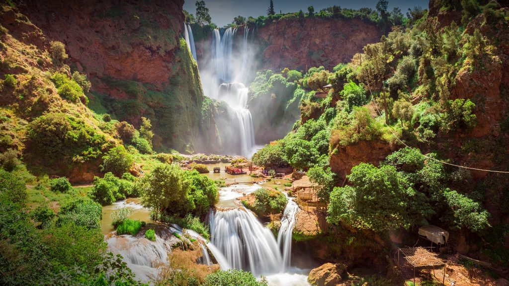 Ouzoud waterfalls, Grand Atlas, Azilal, Morocco