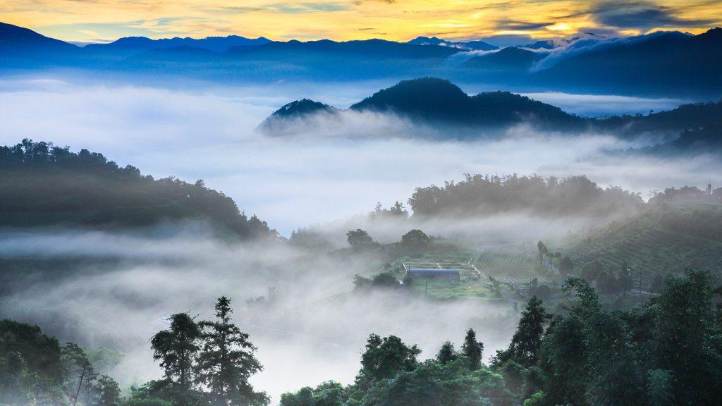 Scenery near Sun Moon Lake, Yuchi Township, Nantou County, Taiwan