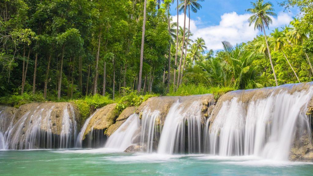 Cambugahay Falls, Lazi, Siquijor Island, Philippines