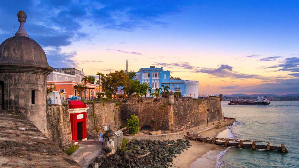 La Puerta de San Juan (The San Juan Gate), Paseo de la Princesa, Old San Juan, Puerto Rico