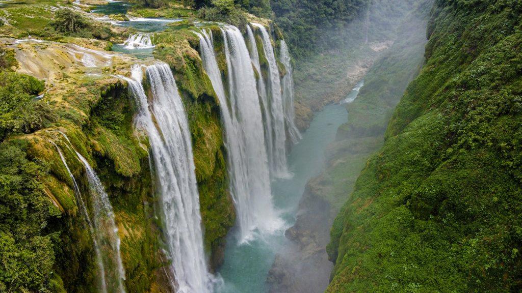 Tamul waterfalls, Huasteca Potosina, San Luis Potosi, Mexico