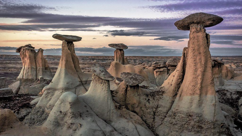 Hoodoos in Ah-Shi-Sle-Pah Wilderness, San Juan County, New Mexico, USA