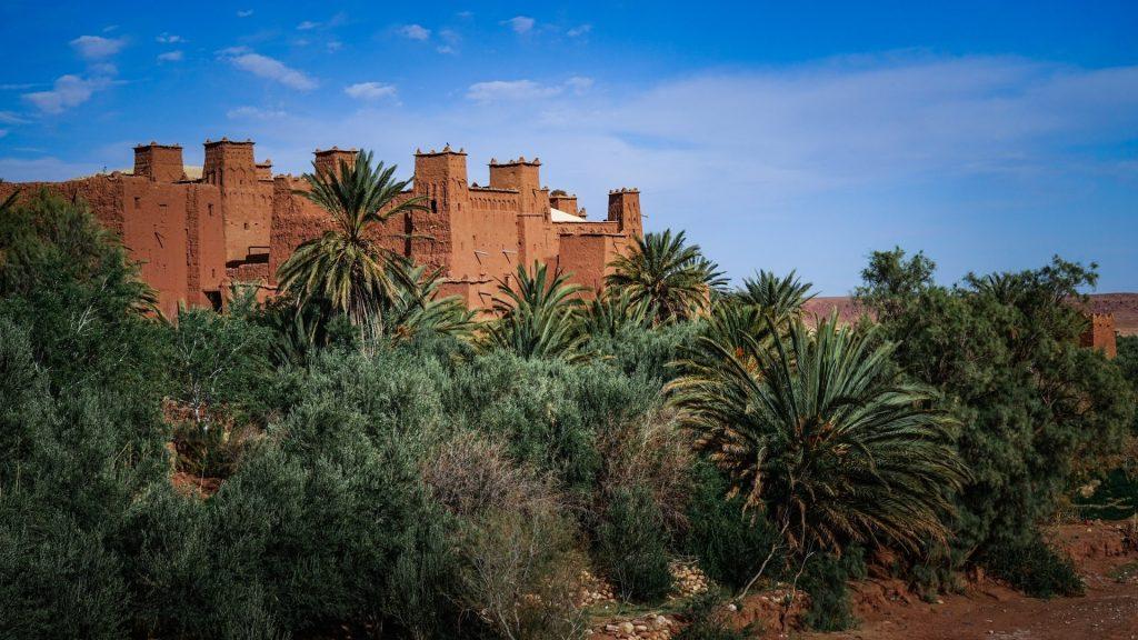Fortified village Kasbah of Aït Benhaddou (Ksar of Ait-Ben-Haddou), Morocco