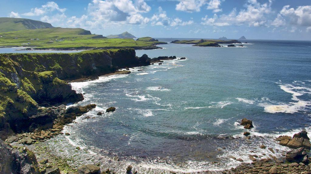 Seascape, Ring of Kerry, Skellig Island, Ireland
