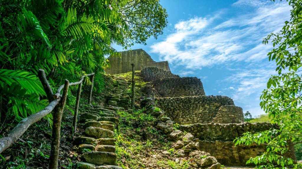 Caracol Temple and Archeological Reserve, San Ignacio, Cayo District, Belize
