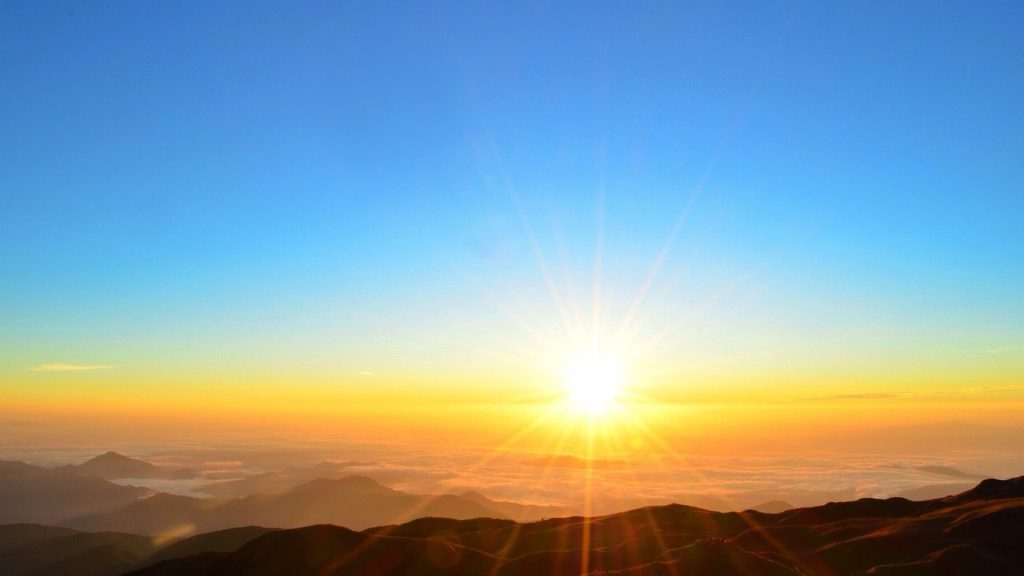 Scenic view of sunrise, Philippines
